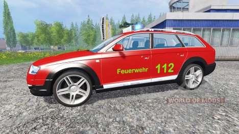 Audi A6 (C6) Avant [feuerwehr] für Farming Simulator 2015