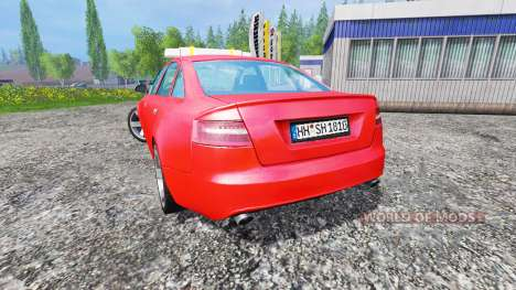 Audi A6 (C6) [feuerwehr] pour Farming Simulator 2015