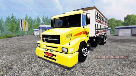 Mercedes-Benz 1620 für Farming Simulator 2015