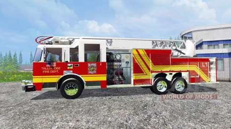American Firetruck für Farming Simulator 2015