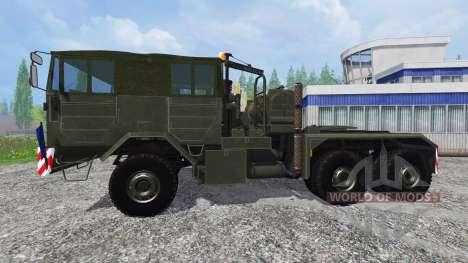 FAUN L 1212-45 VSA 6x6 pour Farming Simulator 2015