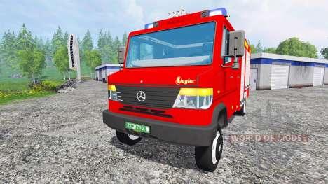 Mercedes-Benz Vario 818 D [feuerwehr] v0.9 für Farming Simulator 2015
