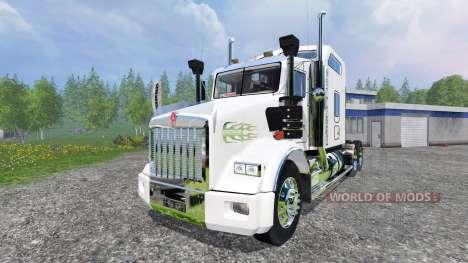 Kenworth T800 pour Farming Simulator 2015