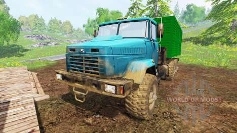 KrAZ-6322 v2.0 pour Farming Simulator 2015