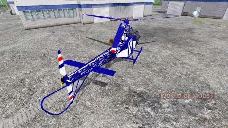 Sud-Aviation Alouette II Police für Farming Simulator 2015