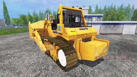 Komatsu D575A für Farming Simulator 2015