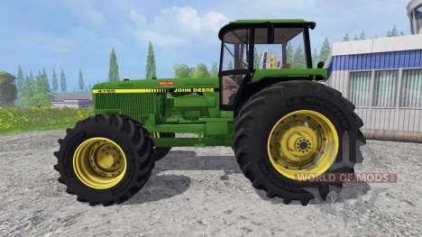 John Deere 4755 v2.2 für Farming Simulator 2015