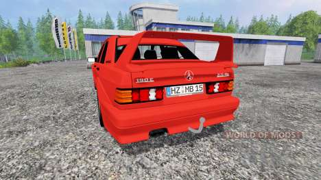 Mercedes-Benz 190 E 2.5-16 Evolution II pour Farming Simulator 2015