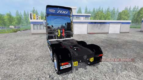 Scania R700 [blue black] pour Farming Simulator 2015