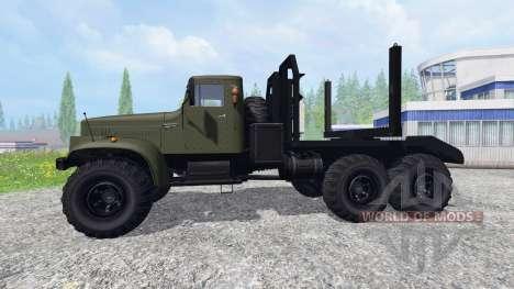 Kraz-255Л pour Farming Simulator 2015
