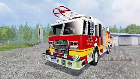 American Firetruck pour Farming Simulator 2015