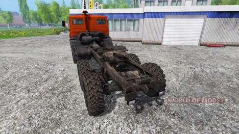 KAMAZ-4310 für Farming Simulator 2015
