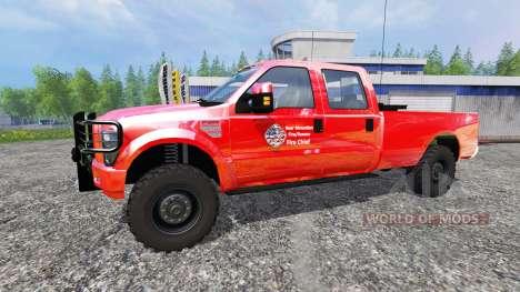 Ford F-350 American Fire Chief für Farming Simulator 2015