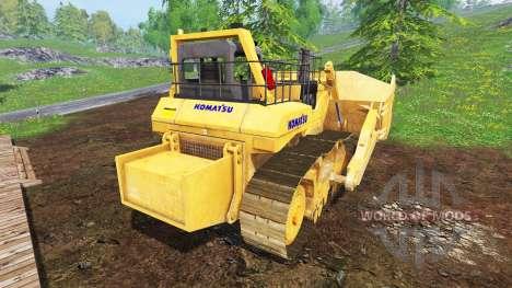 Komatsu D575A v2.0 für Farming Simulator 2015