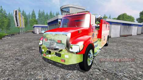 U.S Fire tanker pour Farming Simulator 2015