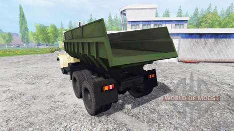 KrAZ-256Б v1.2 pour Farming Simulator 2015