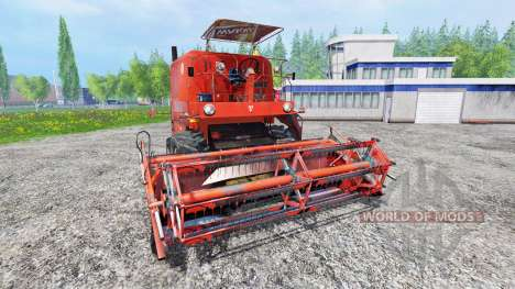 Bizon Z056 pour Farming Simulator 2015
