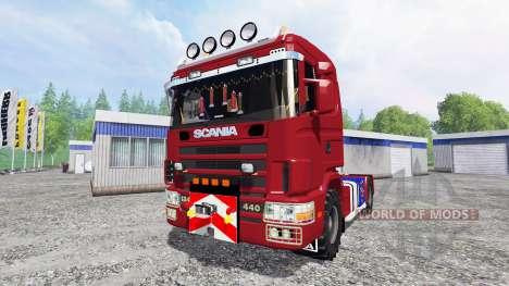Scania 124L pour Farming Simulator 2015