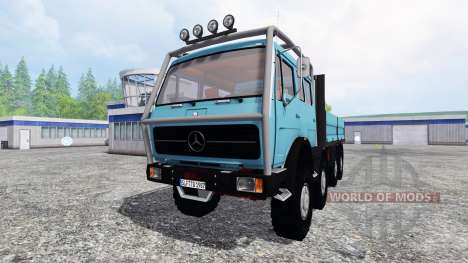 Mercedes-Benz NG 1632 pour Farming Simulator 2015