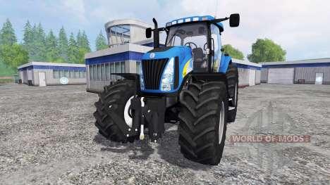 New Holland TG 285 [final] pour Farming Simulator 2015