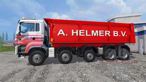 MAN TGS A. Helmer B.V. für Farming Simulator 2015