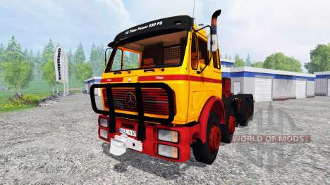 Mercedes-Benz NG 1632 [heavy duty] pour Farming Simulator 2015