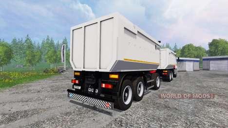 KamAZ-6580 pour Farming Simulator 2015