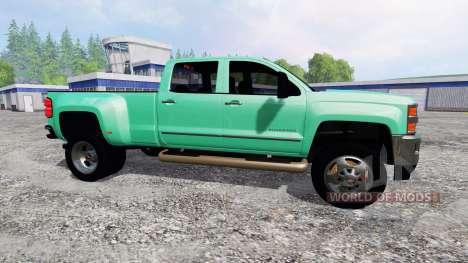 Chevrolet Silverado 2015 pour Farming Simulator 2015