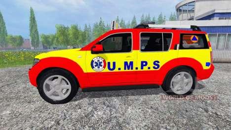 Nissan Pathfinder UMPS pour Farming Simulator 2015