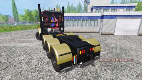 Kenworth T800 v1.2 für Farming Simulator 2015