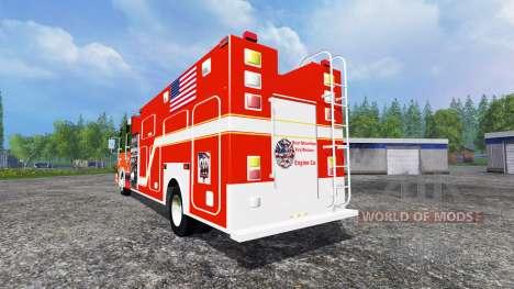 U.S Fire Truck für Farming Simulator 2015