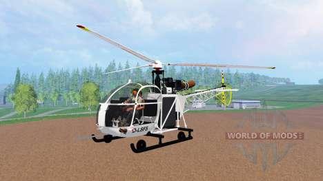 Sud-Aviation Alouette II v2.0 für Farming Simulator 2015