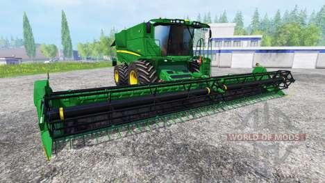 John Deere S 690i pour Farming Simulator 2015