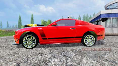 Ford Mustang Boss 302 pour Farming Simulator 2015