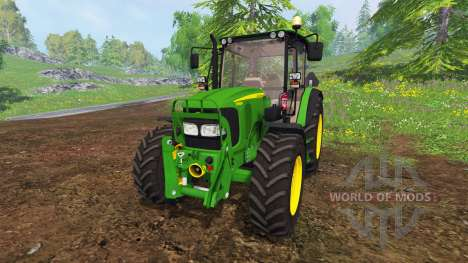 John Deere 5080M [washable] für Farming Simulator 2015