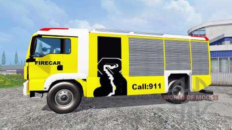 MAN TGM [firecar] pour Farming Simulator 2015