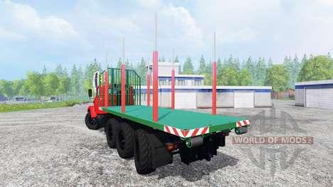 Kraz-7140Н6 pour Farming Simulator 2015