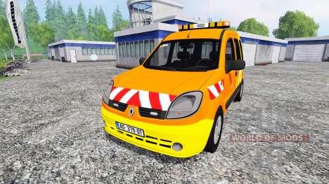 Renault Kangoo [dir sud-ouest] v2.0 pour Farming Simulator 2015