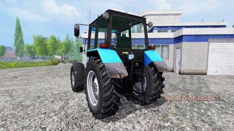 MTZ-892.2 Biélorussie v2.0 pour Farming Simulator 2015