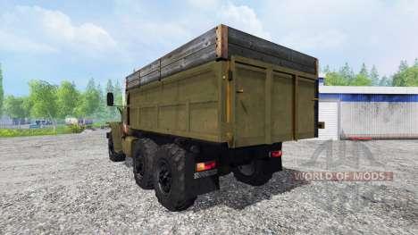 Ural-4320 pour Farming Simulator 2015
