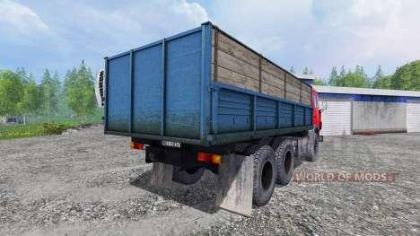 KamAZ-55102 v2.5 pour Farming Simulator 2015