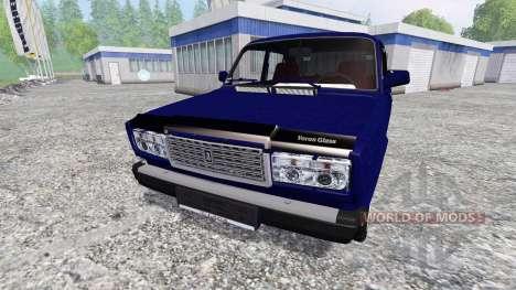 VAZ-2107 v2.0 pour Farming Simulator 2015