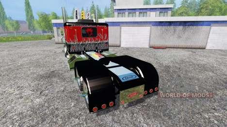 Peterbilt 379 [murderklok edition] pour Farming Simulator 2015