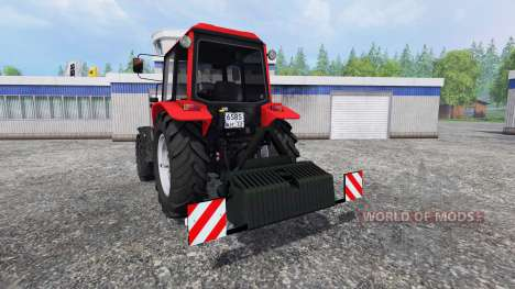MTZ-1025.4 pour Farming Simulator 2015
