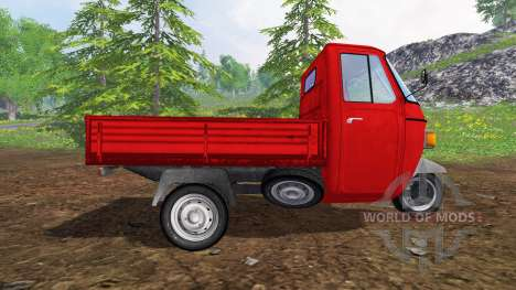 Piaggio Ape P601 UPK für Farming Simulator 2015