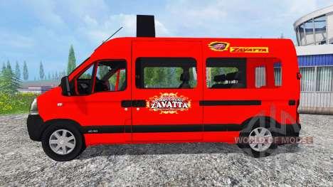 Renault Master Zavatta für Farming Simulator 2015