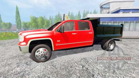 GMC Sierra [dump] pour Farming Simulator 2015