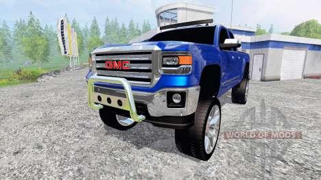 GMC Sierra 1500 2014 [better sounds] für Farming Simulator 2015