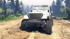 Jeep CJ-7 Renegade [Dixie] v2.0 pour Spin Tires