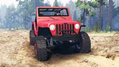 Jeep Wrangler 2005 pour Spin Tires